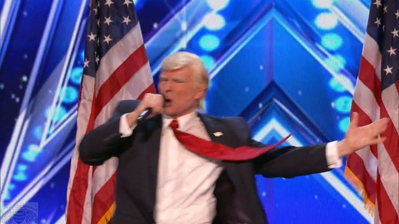 News America S Got Talent 2017 Donald Trump